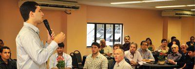 CDL começa 2012 trazendo boas noticias no Café Empresarial