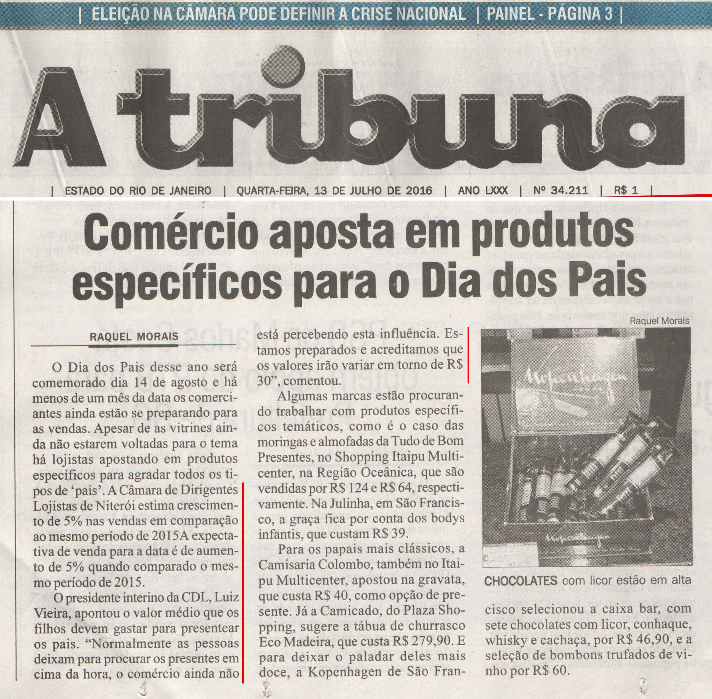 13-07-2016 - A Tribuna