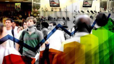 Confiança dos comerciantes sobe 18,4% em janeiro