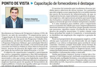 02/12 – Artigo O Fluminense