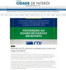 21/01 – Jornal Cidade de Niterói – CDL