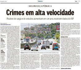 28/01 – O Globo Niterói – roubos de carga