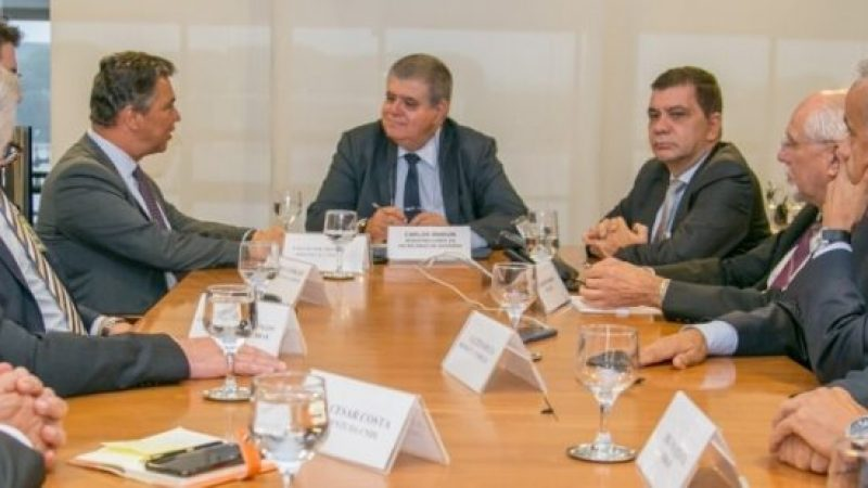 Empresários e ministro Carlos Marun discutem importância de derrubar veto ao Refis